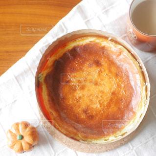 ベイクドチーズケーキの写真・画像素材[2654955]