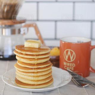 パンケーキの朝食の写真・画像素材[2684318]