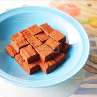 手作り生チョコレートの写真・画像素材[2951358]
