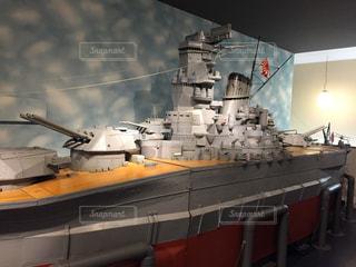 戦艦大和模型の写真・画像素材[853498]
