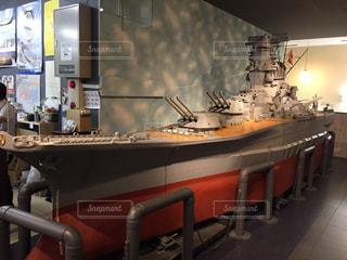 戦艦大和模型の写真・画像素材[853499]