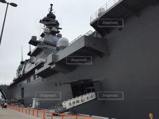 護衛艦加賀の写真・画像素材[853532]