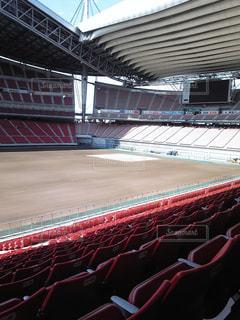 大規模なスタジアムの写真・画像素材[853725]