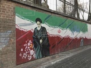 レンガの壁画の写真・画像素材[961545]