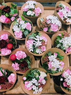 ピンクの花束の写真・画像素材[996523]