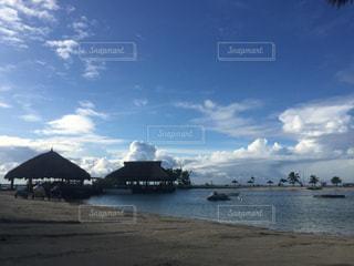 南国リゾート、セブ島のビーチの写真・画像素材[854102]