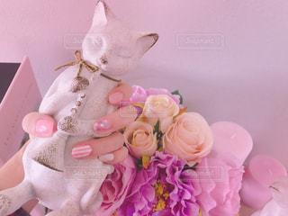 ピンク ネイルの写真・画像素材[992280]