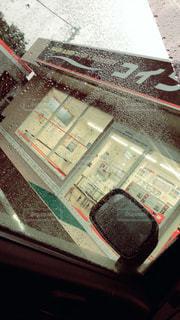 雨の日の洗濯の写真・画像素材[854500]