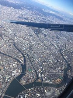 大阪上空からの写真・画像素材[956859]