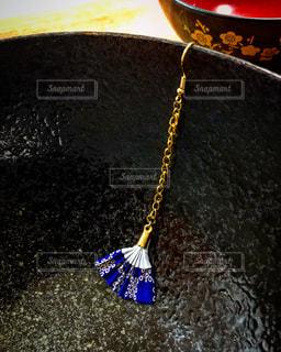 ハンドメイド扇子アクセサリーの写真・画像素材[856139]