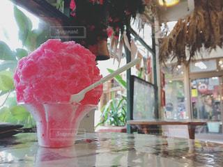 夏のカキ氷の写真・画像素材[857647]