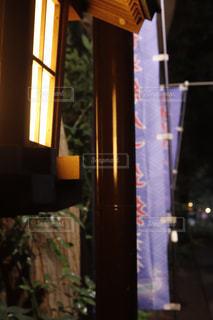 夜の参道の写真・画像素材[1639807]