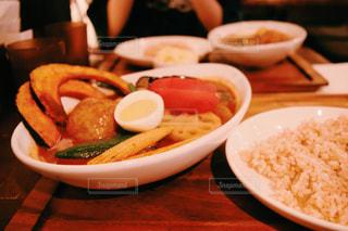 スープカレーの写真・画像素材[856492]