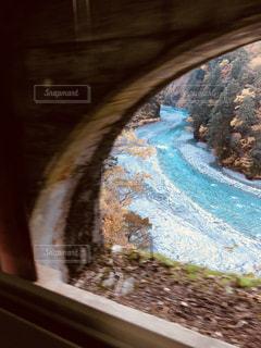 山の形をした電車ケーキの写真・画像素材[858471]