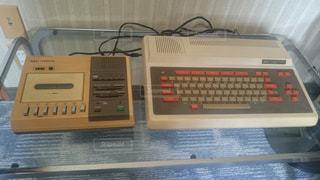 1980年代の8ビットパソコンの写真・画像素材[858940]