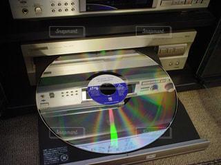 パイオニアのレーザーディスクの写真・画像素材[859831]