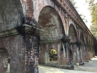 南禅寺の敷地内にある明治時代の水路閣の写真・画像素材[1029555]
