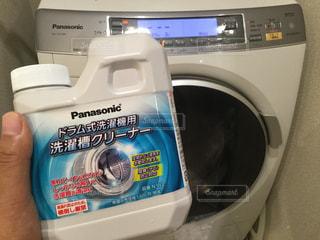 ドラム式洗濯機の洗濯槽クリーンの写真・画像素材[1287358]