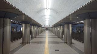 大阪メトロの大阪ビジネスパーク駅の写真・画像素材[1721699]