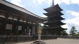 奈良の興福寺の写真・画像素材[1725287]