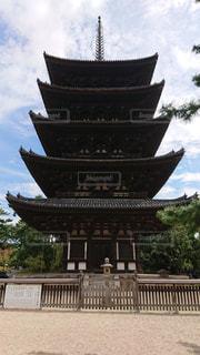 興福寺の五重塔の写真・画像素材[2898500]