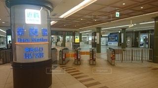 近鉄奈良駅の東改札口の写真・画像素材[3359476]