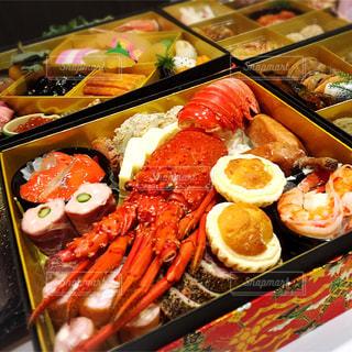 お正月のおせち料理の写真・画像素材[864499]