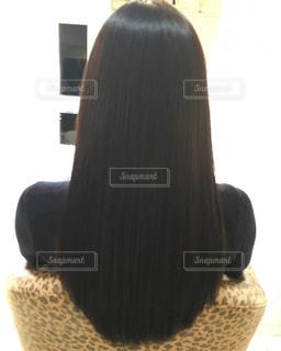 さらつるヘアーの写真・画像素材[857553]