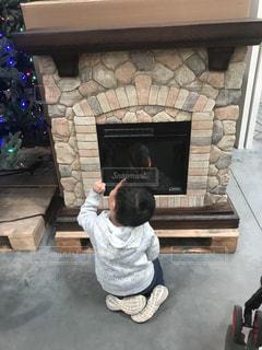 この暖炉いいね〜の写真・画像素材[865115]