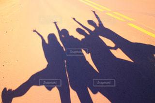 青春女子旅inハワイの写真・画像素材[857702]