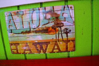 ハワイの雑貨店の看板の写真・画像素材[857703]