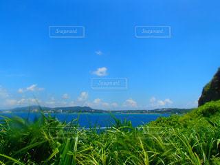 沖縄の海と空の写真・画像素材[857792]