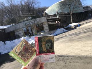 動物園デートの写真・画像素材[1025327]