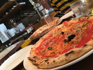 美味しいピザの写真・画像素材[1663613]