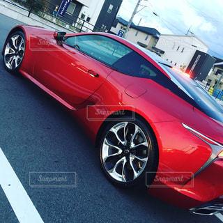 Red carの写真・画像素材[857996]
