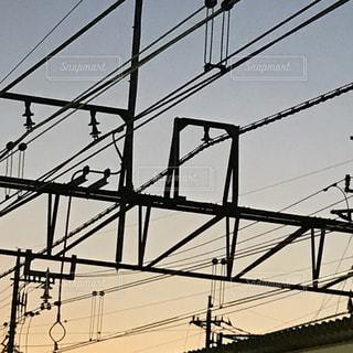 ある日の夕日の写真・画像素材[858243]