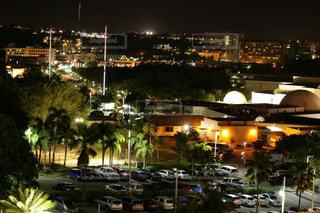 グアムの夜の眺めの写真・画像素材[862547]