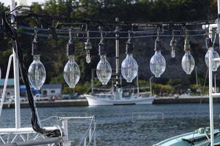 イカ釣り漁船の写真・画像素材[859240]