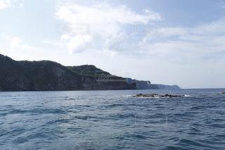 船から撮った北海道の海の写真・画像素材[859244]