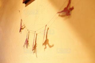 カフェの壁飾りの写真・画像素材[859515]