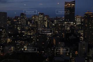 東京タワーから見る夜景の写真・画像素材[859520]