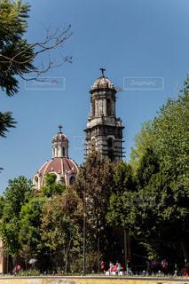 メキシコの建物の写真・画像素材[2976682]