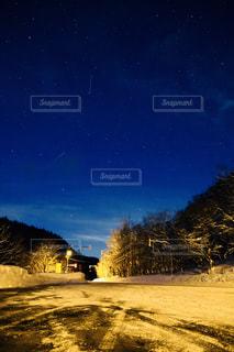 しぶんぎ座流星群の写真・画像素材[945682]