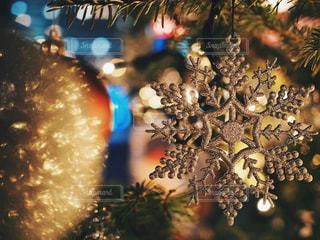 クリスマス雪の結晶の写真・画像素材[925722]