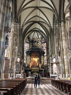 ウィーンのシュテファン大聖堂の写真・画像素材[859776]