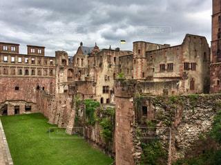 ハイデルベルクの古城の写真・画像素材[859780]