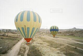 トルコの気球の写真・画像素材[4691758]