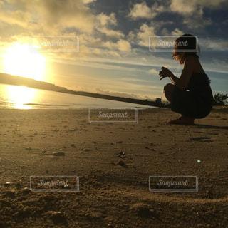 忘れられない朝日の写真・画像素材[860922]