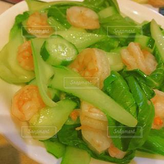 肉と野菜の料理の写真・画像素材[860093]