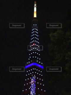 東京タワーは夜ライトアップします。の写真・画像素材[862939]